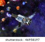 solar system | Shutterstock . vector #46958197
