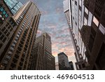 evening in new york city.... | Shutterstock . vector #469604513