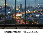 city night view from the office ... | Shutterstock . vector #469616327