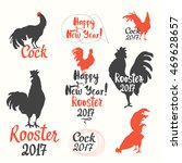 set of funny labels with... | Shutterstock .eps vector #469628657