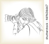a photographer takes photo ...   Shutterstock .eps vector #469636667