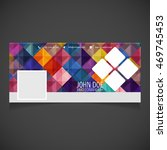 creative photography banner... | Shutterstock .eps vector #469745453