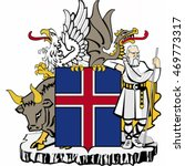 Coat Of Arms Of Iceland  ...