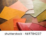 leather craft. colorful pieces... | Shutterstock . vector #469784237