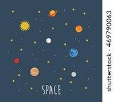 set of planets card design....   Shutterstock .eps vector #469790063
