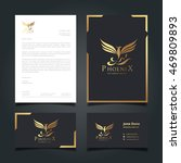 luxury logo and corporate... | Shutterstock .eps vector #469809893