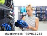 beautiful caucasian woman... | Shutterstock . vector #469818263