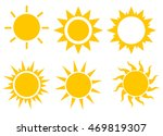 sun icon set  vector... | Shutterstock .eps vector #469819307