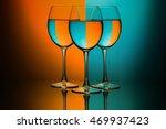 Colourful Wine Glasses Orange...