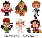 halloween kids | Shutterstock .eps vector #469946777