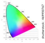 cie chromaticity diagram... | Shutterstock .eps vector #469950767