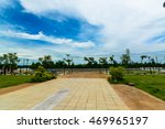 city park with windy clouds | Shutterstock . vector #469965197