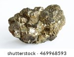 Pyrite Mineral Crystals On...