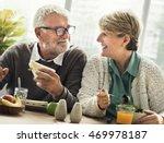 retirement senior couple... | Shutterstock . vector #469978187