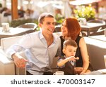 family with son having fun in a ... | Shutterstock . vector #470003147