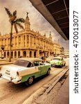 life in old havana near the...   Shutterstock . vector #470013077