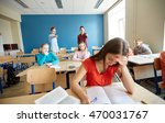 education  bullying  conflict ... | Shutterstock . vector #470031767