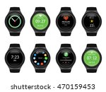 smart watches wearable... | Shutterstock .eps vector #470159453