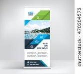 banner roll up design  business ... | Shutterstock .eps vector #470204573