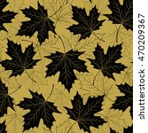 Fall Leaf Seamless Pattern....