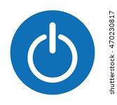 control panel button menu icon... | Shutterstock .eps vector #470230817