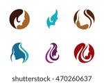 beauty women icon logo template ...