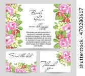 vintage delicate invitation... | Shutterstock .eps vector #470280617