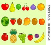 fruits | Shutterstock .eps vector #470352023