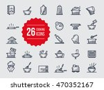 cooking icons | Shutterstock .eps vector #470352167