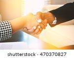 hand of bussiness | Shutterstock . vector #470370827