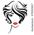 illustration of women short... | Shutterstock .eps vector #470392817