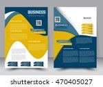 abstract flyer design... | Shutterstock .eps vector #470405027