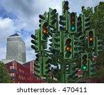 Traffic Light Sculpture By...