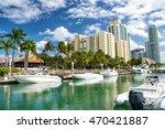 Miami Beach Coastline With...