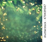 christmas tree background | Shutterstock . vector #470439347