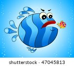 little colorful tropical fish | Shutterstock .eps vector #47045813