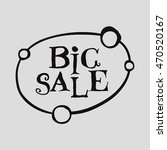 big sale latter background on... | Shutterstock .eps vector #470520167