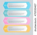 business infographics tabs... | Shutterstock .eps vector #470550407