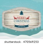 signboard with christmas... | Shutterstock .eps vector #470569253