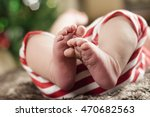 Christmas Baby With Red And...