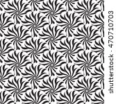 seamless creative hand drawn... | Shutterstock .eps vector #470710703