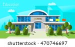 building on the background of...   Shutterstock .eps vector #470746697