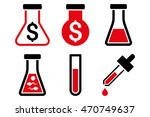 alchemy vector icons. pictogram ...