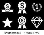 award vector icons. pictogram...