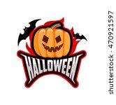 Halloween Logo Halloween Vecto...