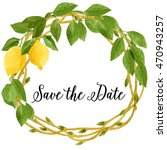 Save The Date Wedding Card Wit...