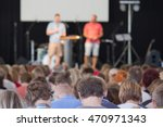conference in church | Shutterstock . vector #470971343