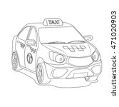 taxi | Shutterstock .eps vector #471020903