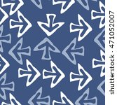 seamless pattern with arrows  ... | Shutterstock .eps vector #471052007