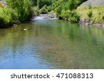 mountain river flowing in a... | Shutterstock . vector #471088313